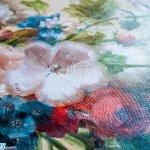 Покрытие картины текстурным гелем, дамина бай Damina.by,