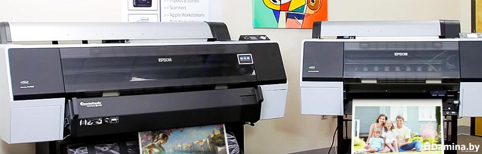 Принтеры компании Epson для печати на холсте