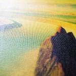 Картина покрытая акриловым лаком